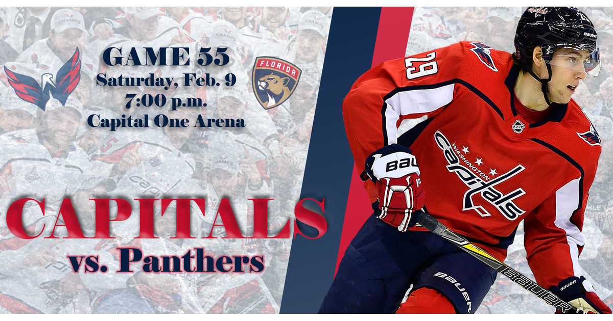 Flipboard  Capitals vs. Panthers Game Thread 6060e9117
