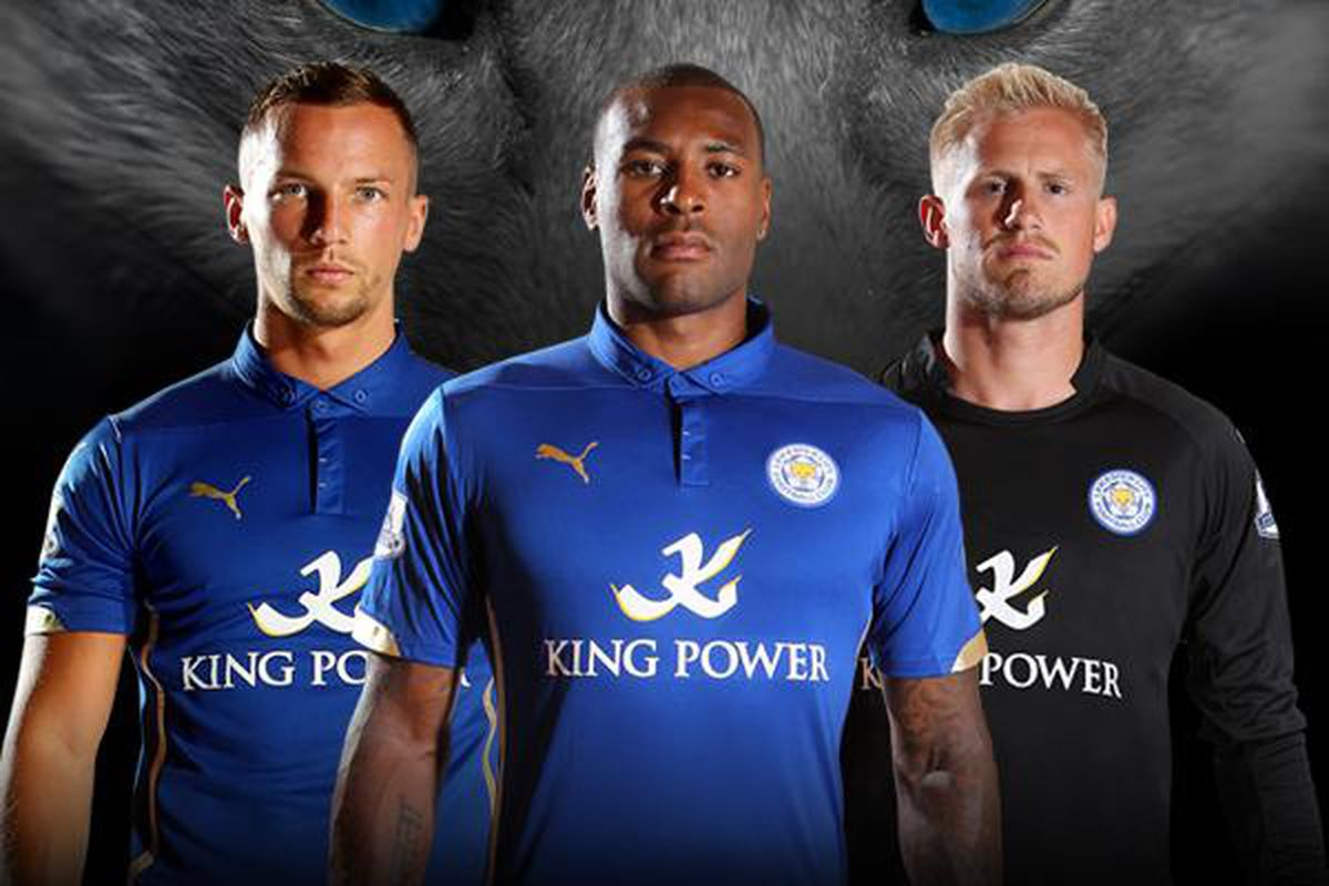 34140d512 Leicester City go Azzuri with new home kit