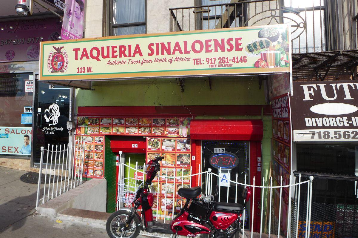 Taqueria Sinaloense is in Marble Hill, the Bronx.
