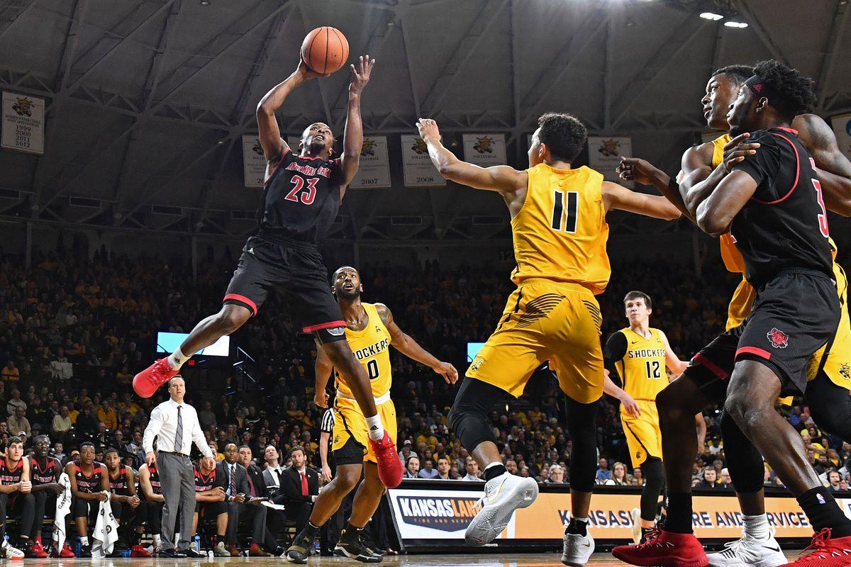 NCAA Basketball: Arkansas State at Wichita State