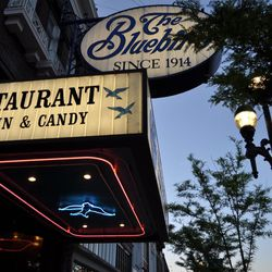 The Bluebird, founded in 1914, was originally a candy, ice cream and soda fountain.