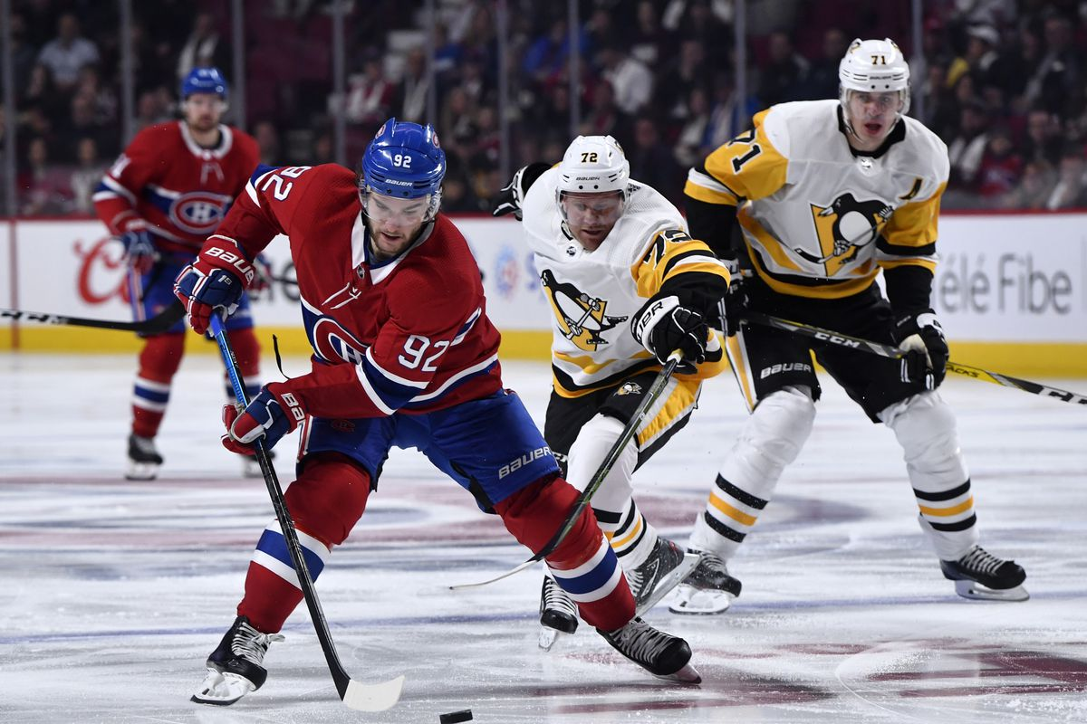 NHL: Pittsburgh Penguins at Montreal Canadiens