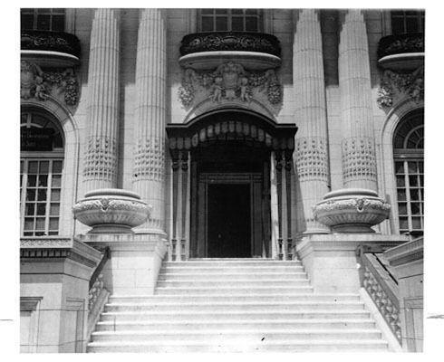 Spreckels Mansion in 1913.