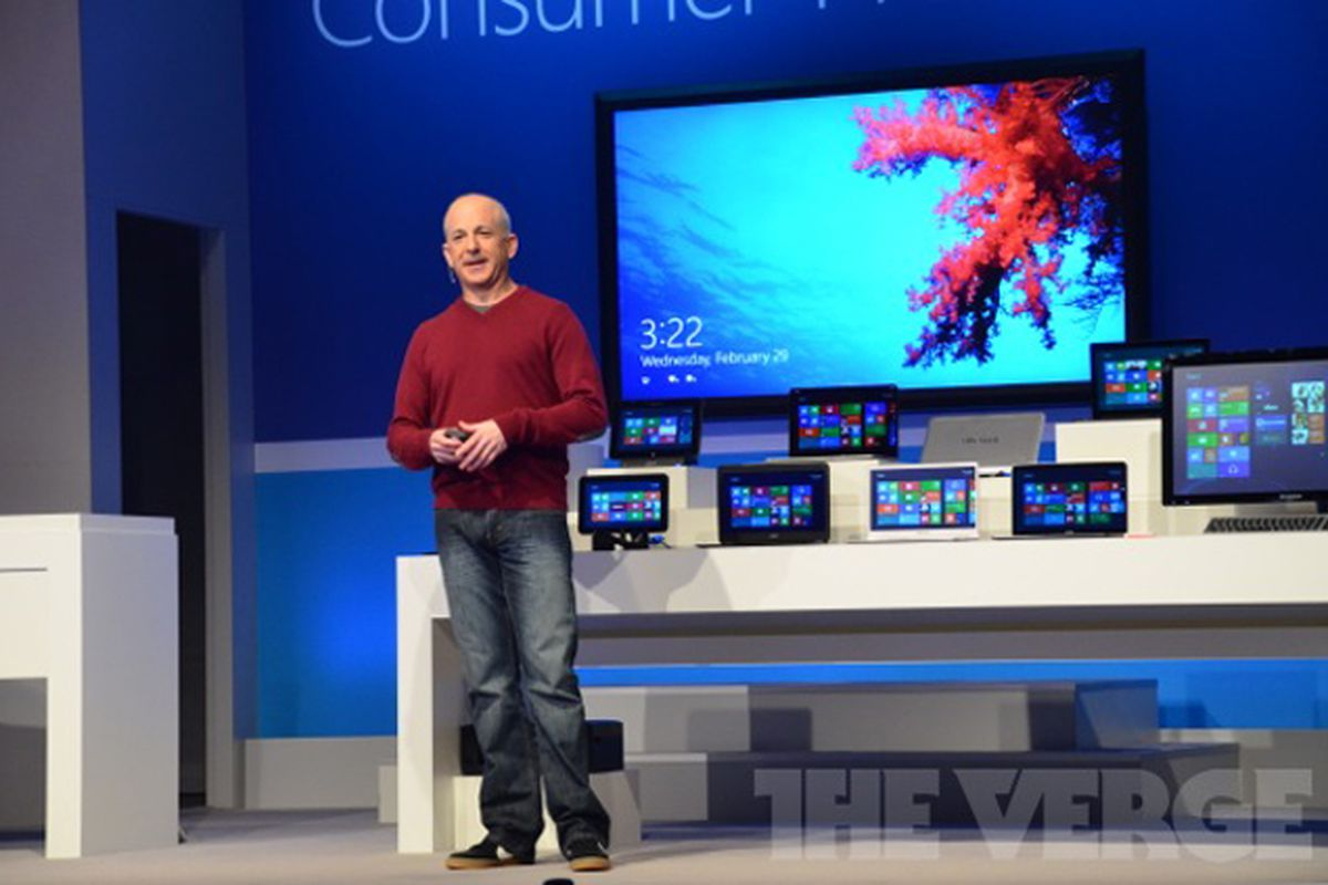 Windows 8 Consumer Preview Event Steven Sinofsky
