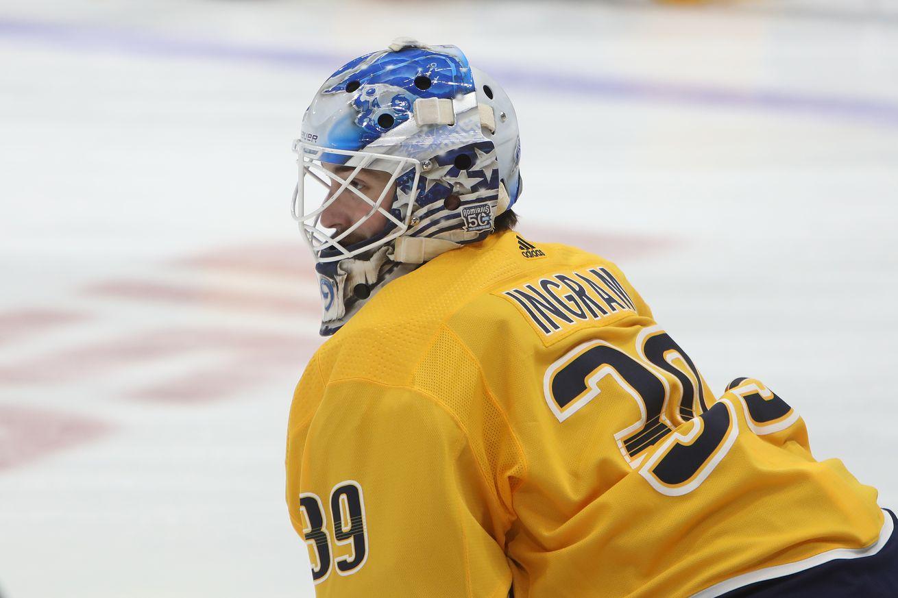NHL: FEB 25 Senators at Predators