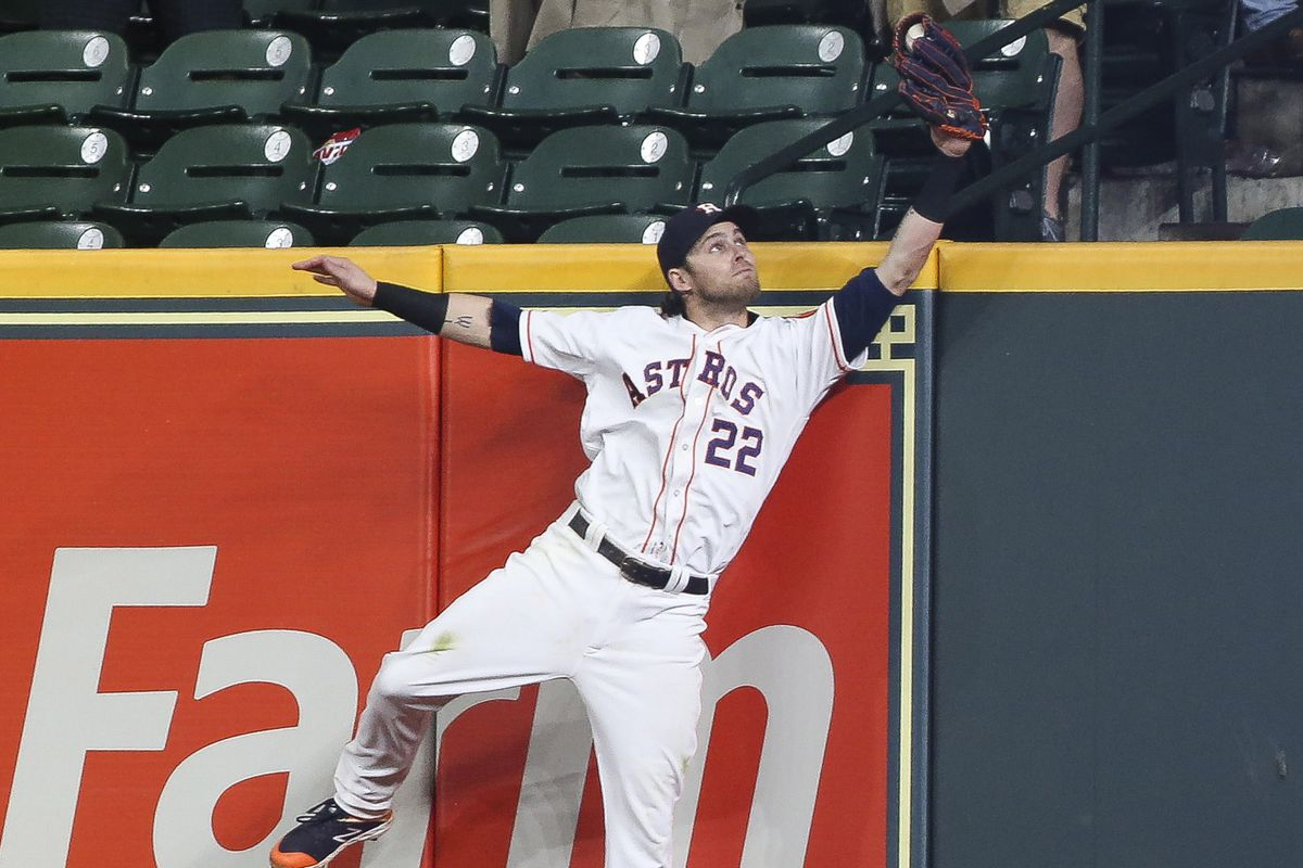 Josh Reddick Saves A Wet One As The Astros Hold On 4 2