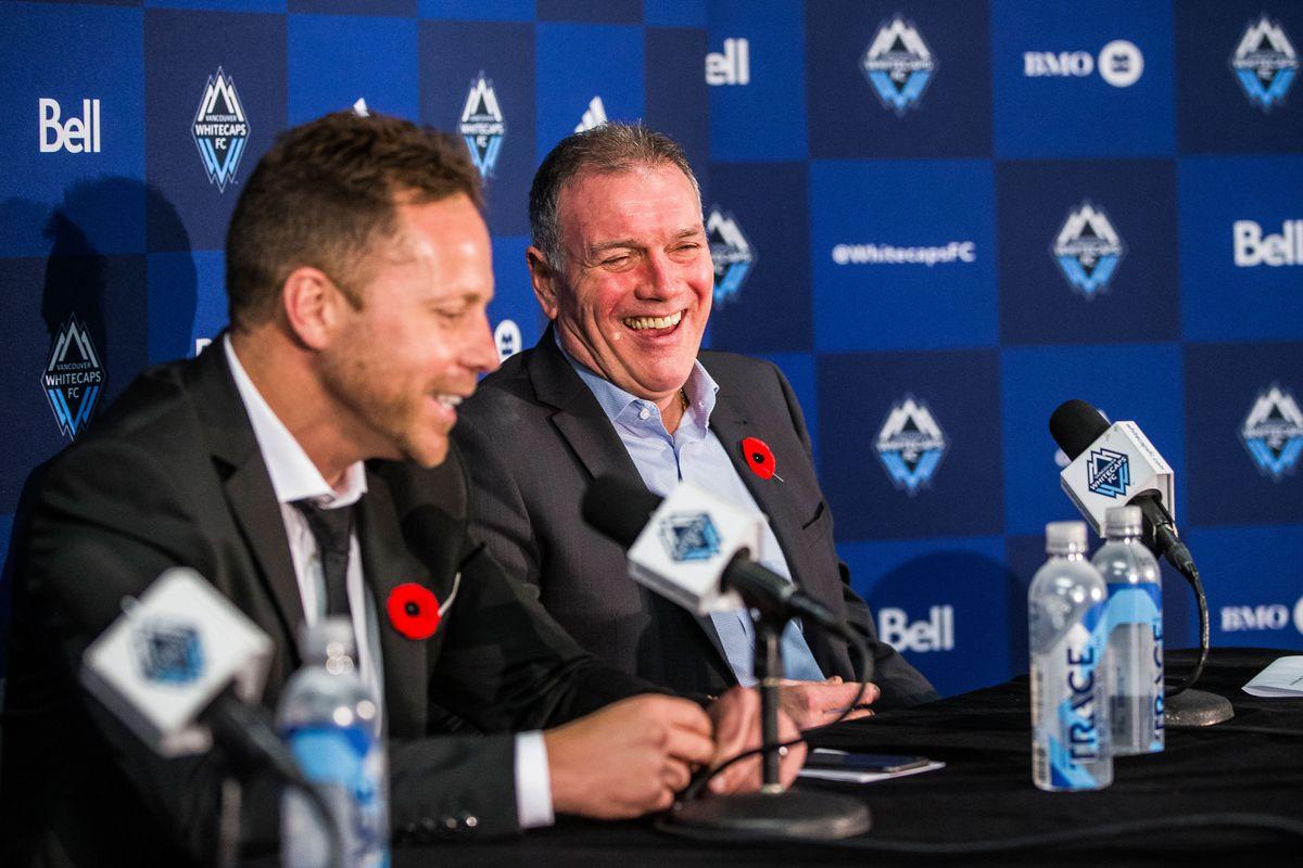 MLS: Vancouver Whitecaps head coach Marc Dos Santos