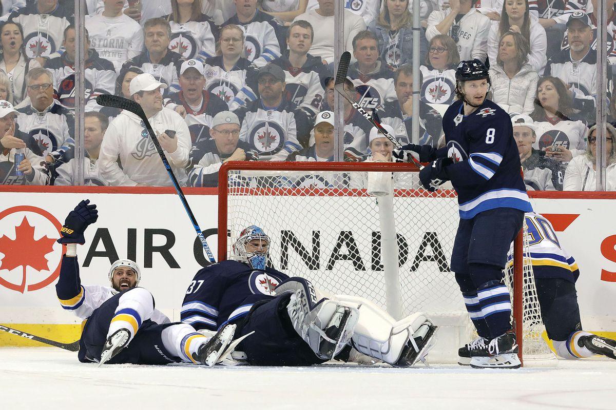 St Louis Blues v Winnipeg Jets - Game Two
