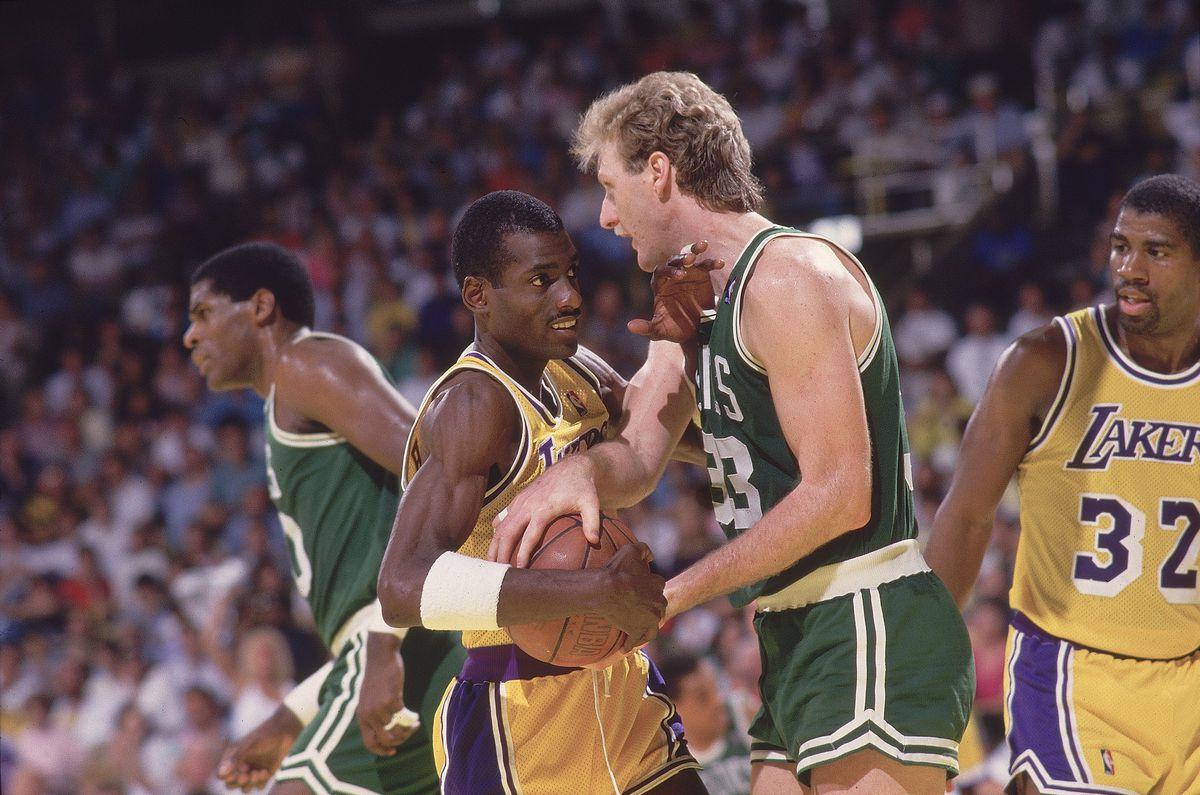 Boston Celtics Larry Bird, 1987 NBA Finals
