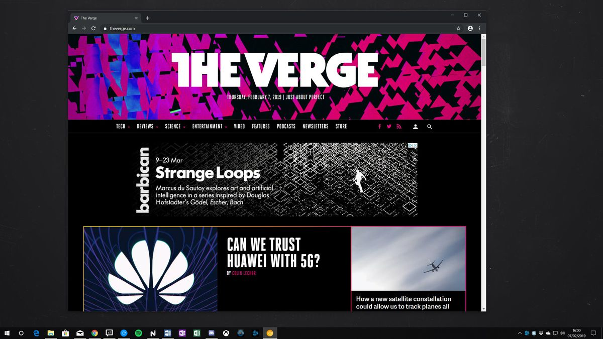 Chrome is getting a dark mode for Windows 10 and macOS - The Verge