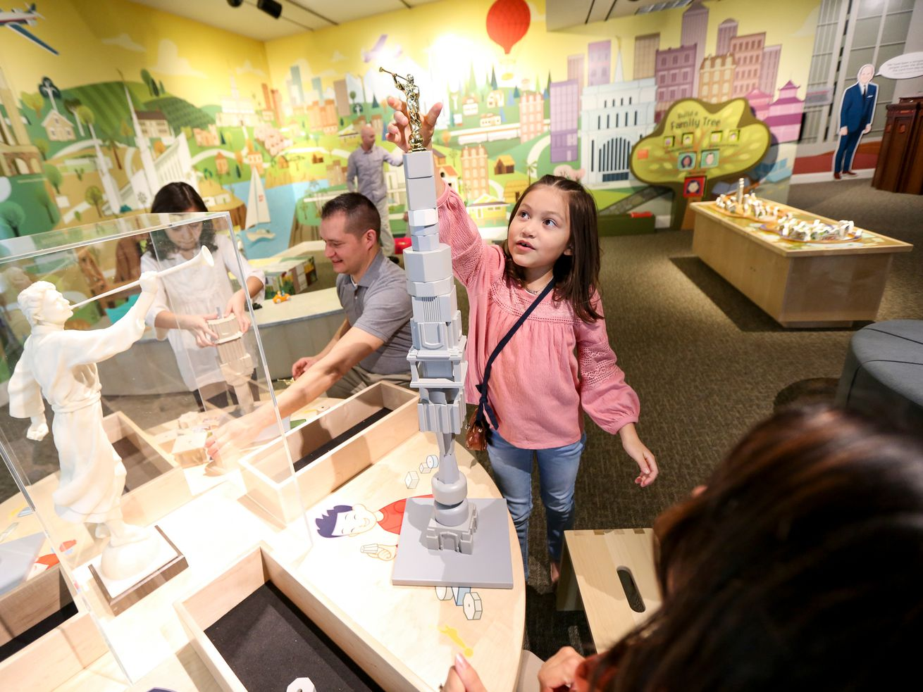 New Church History Museum 'temples' exhibit designed to engage, educate children