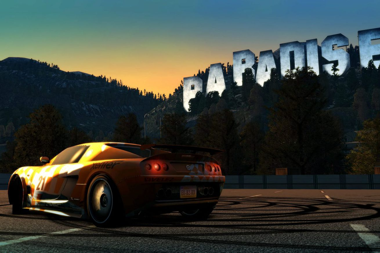classic open world racer burnout paradise is being remastered for xbox one and ps4