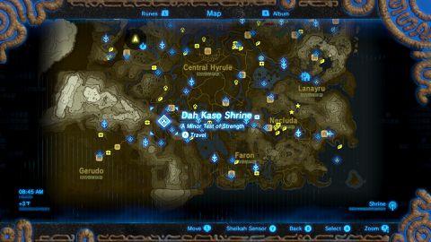 Zelda Breath Of The Wild Schrein Karte.Zelda Breath Of The Wild Guide Dah Kaso Shrine Walkthrough