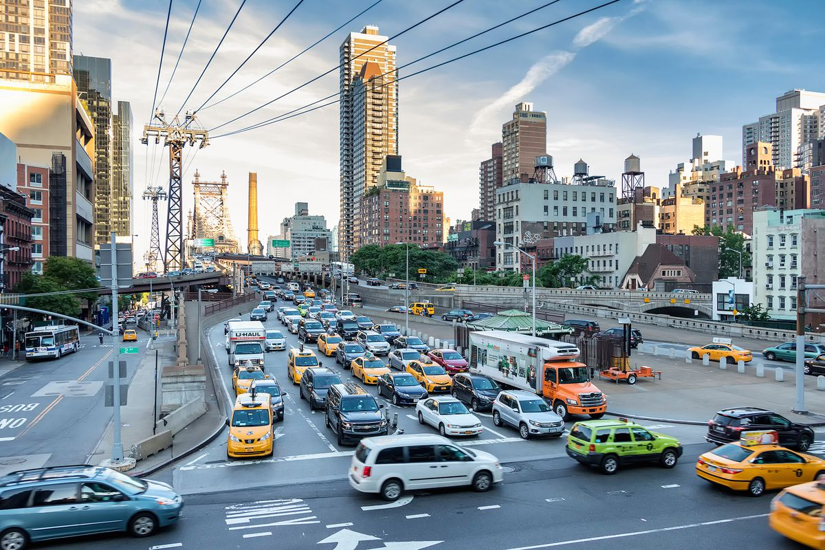 Diverse group of NYC activists press state to pass congestion