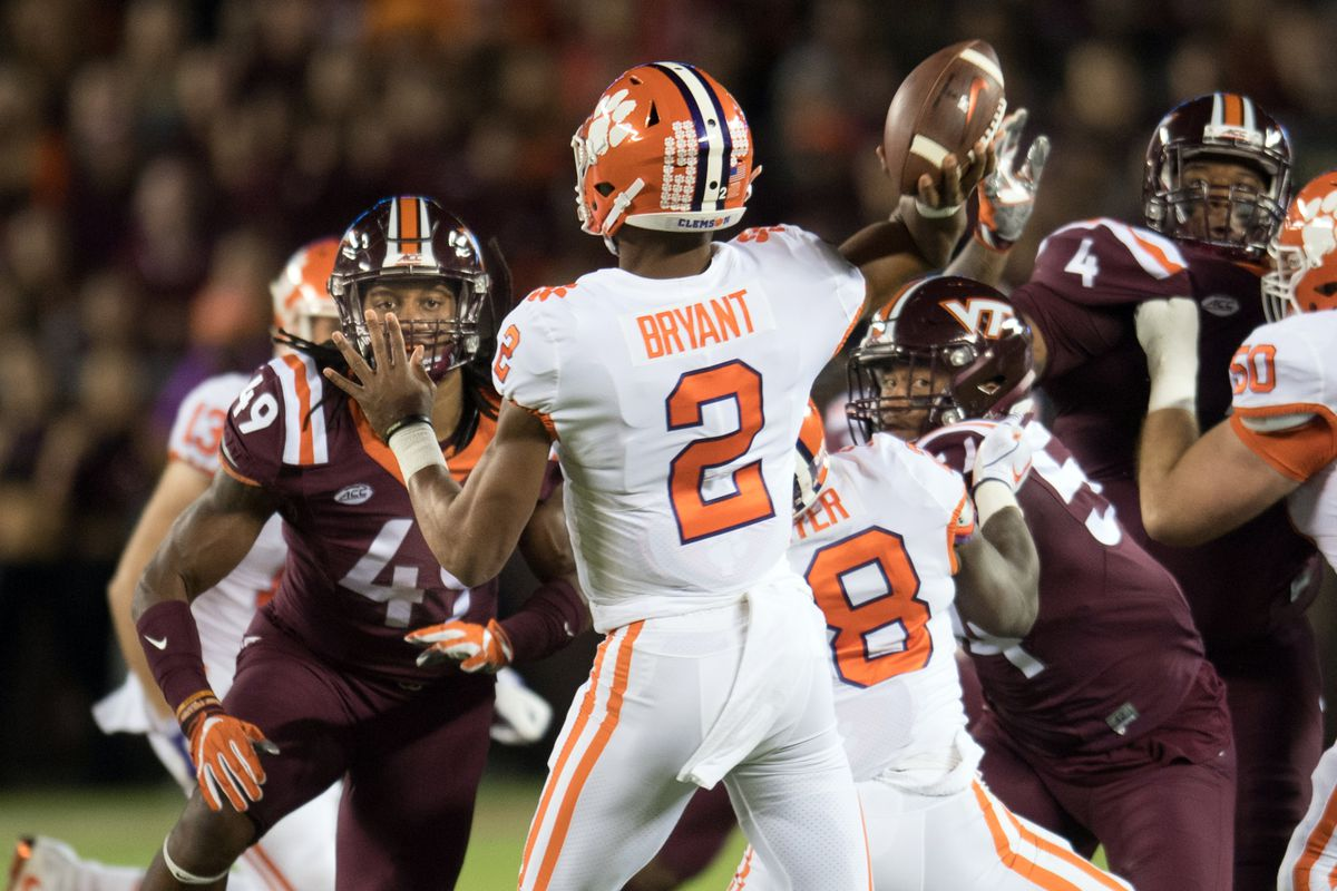 Virginia Tech Football No 2 Clemson Defeats The Hokies 31