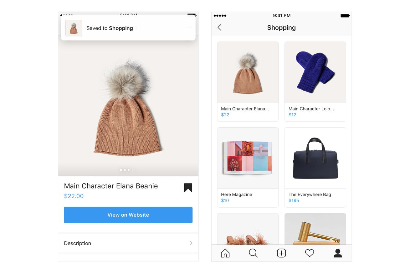 instagram will now let users shop items from video posts