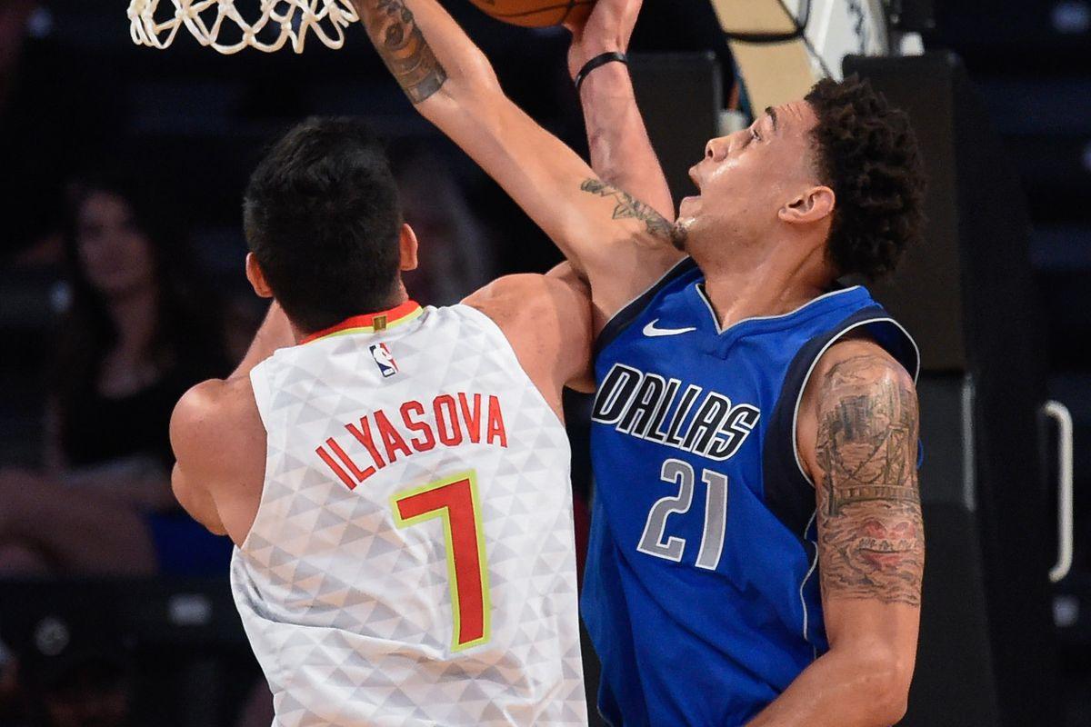 NBA: Preseason-Dallas Mavericks at Atlanta Hawks