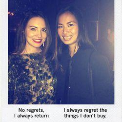 "Lara Ramos, editor of <a href=""http://theglossarie.com"">The Glossarie</a> and Tammy Preston, editor of <a href=""http://aloyallove.blogspot.com"">A Loyal Love</a>"