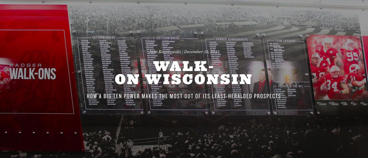 walk-on wisconsin screenshot