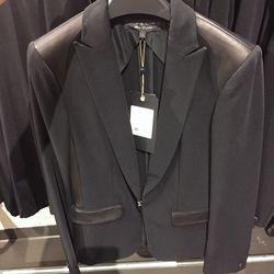 Black Howard blazer, $200