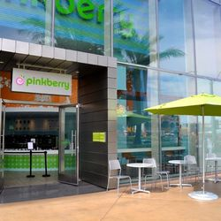 Pinkberry, which just opened in August, is getting new neighbors.