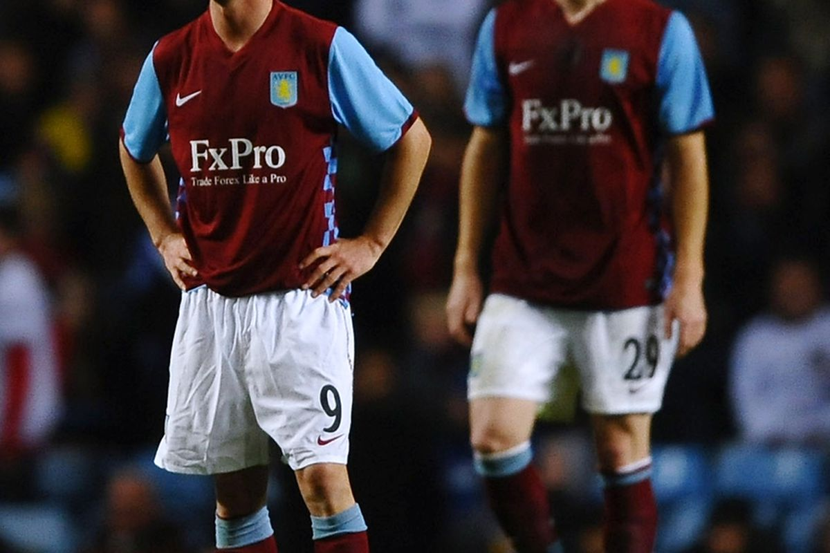 If Stephen Ireland leaves, Aston Villa fans will never again confuse him with James Collins. Another plus! (Photo by Laurence Griffiths/Getty Images)