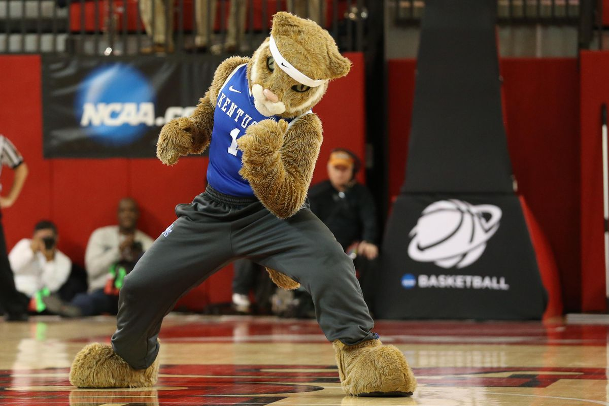 The Kentucky Wildcats mascot is disappointed that the UK basketball team can't defend its 2012 Men's Basketball National Title, but he is rooting hard for the UK Hoops squad to go for the Sweet 16 and even a 2013 Women's Basketball Title!