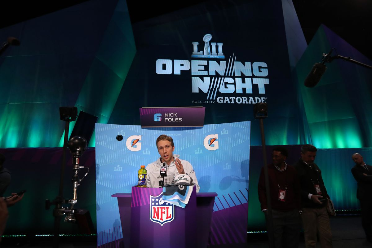 Super Bowl 2019 Schedule Of Events Super Bowl media day 2019 live stream: Time, TV schedule, and how