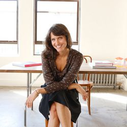 """<span class=""""credit"""">Designer Chay Wike in her Downtown studio.</span></br> <b>Tell us more about your path from acting to designing.</b></br> I was an actress from the ages of 10 to 23. I did a few TV shows and some indie films that never made it past"""