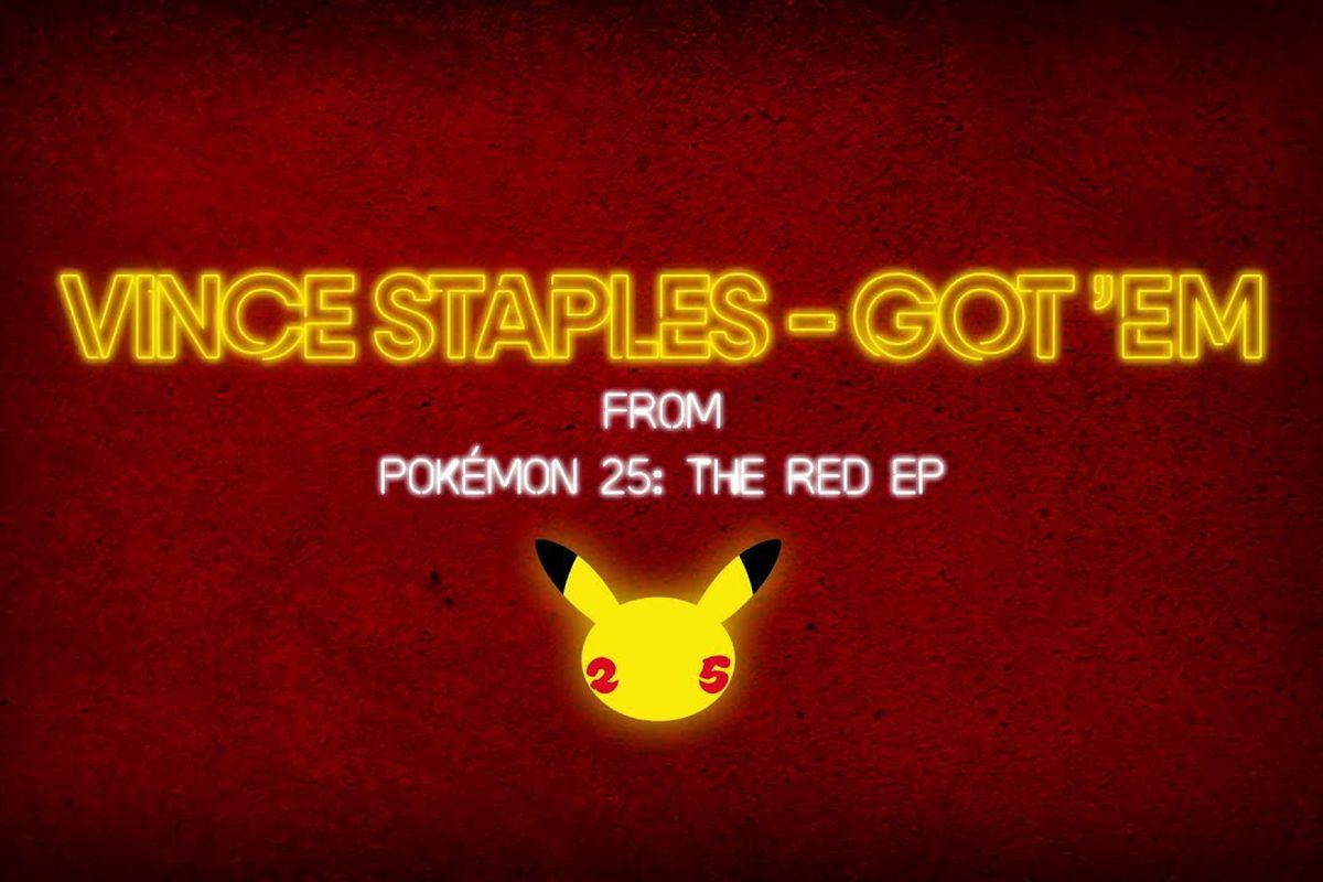 "Video graphics for Vince Staples' ""Got 'Em"""