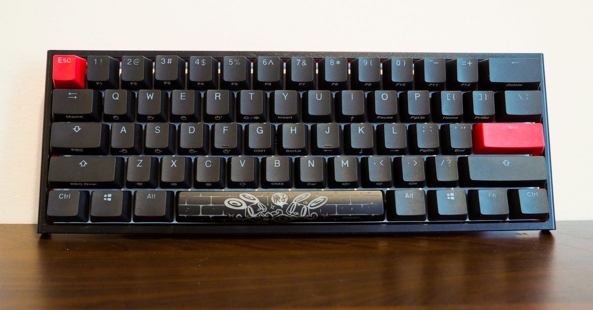 HyperX and Ducky collaborated on a limited edition version of the One 2 Mini keyboard thumbnail