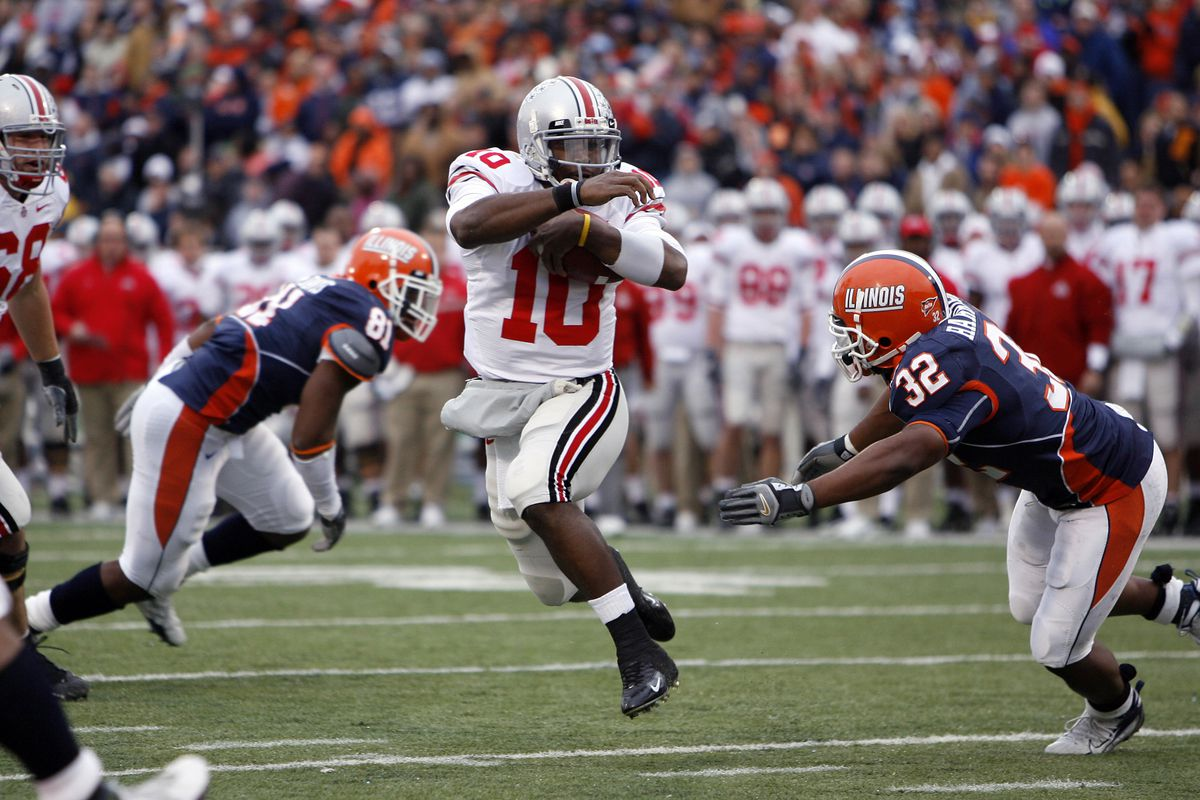 NCAA Football - Ohio State vs Illinois - November 4, 2006