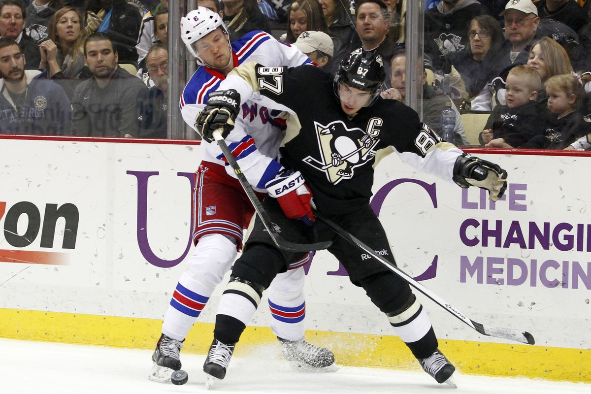 The Pittsburgh Penguins still rule the division but there's a new team behind them in second place.  No, it's not the Rangers but it could be next week.