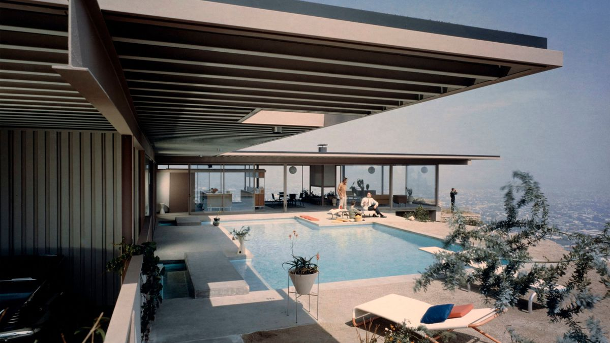 Stahl House, © J. Paul Getty Trust. Getty Research Institute, Los Angeles (2004.R.10)