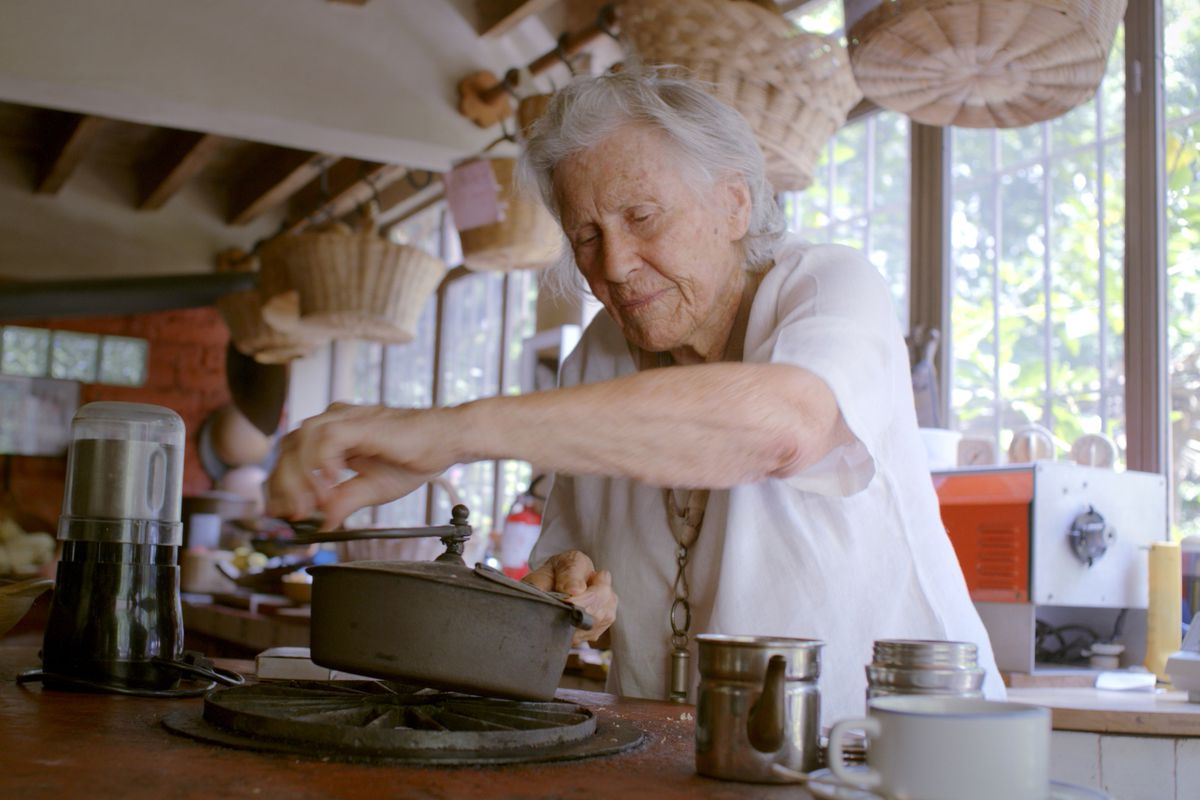 """Diana Kennedy is shown in a scene from the documentary """"Diana Kennedy: Nothing Fancy."""" The documentary traces the unlikely rise of an Englishwoman who became one of the most respected authorities on Mexican food."""