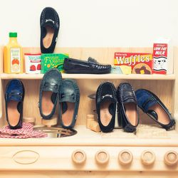 """<A href=""""http://www.thecoveteur.com/alaia_rose_barbier""""target=""""_blank"""">Alaia Rose Barbier</a>'s precious Venettini loafers."""