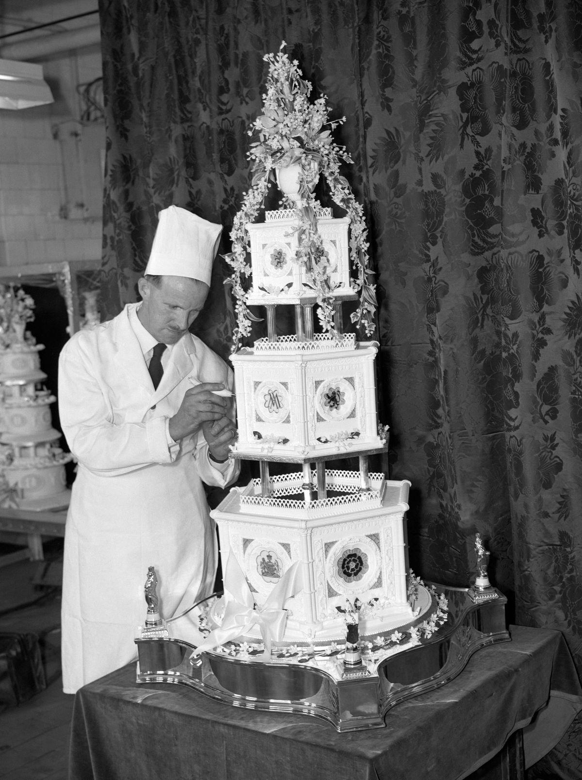 Wedding cake for Princess Margaret