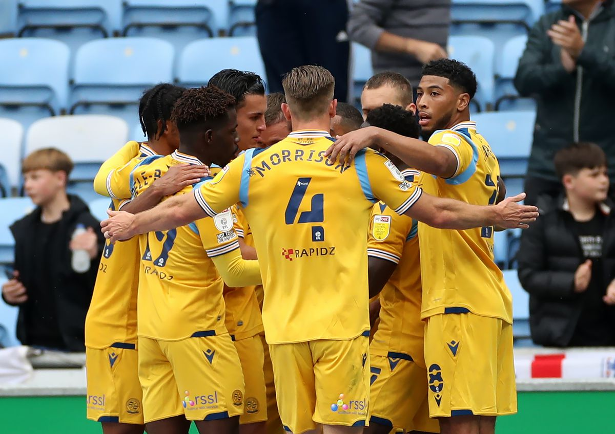 Coventry City v Reading - Sky Bet Championship - Coventry Building Society Arena