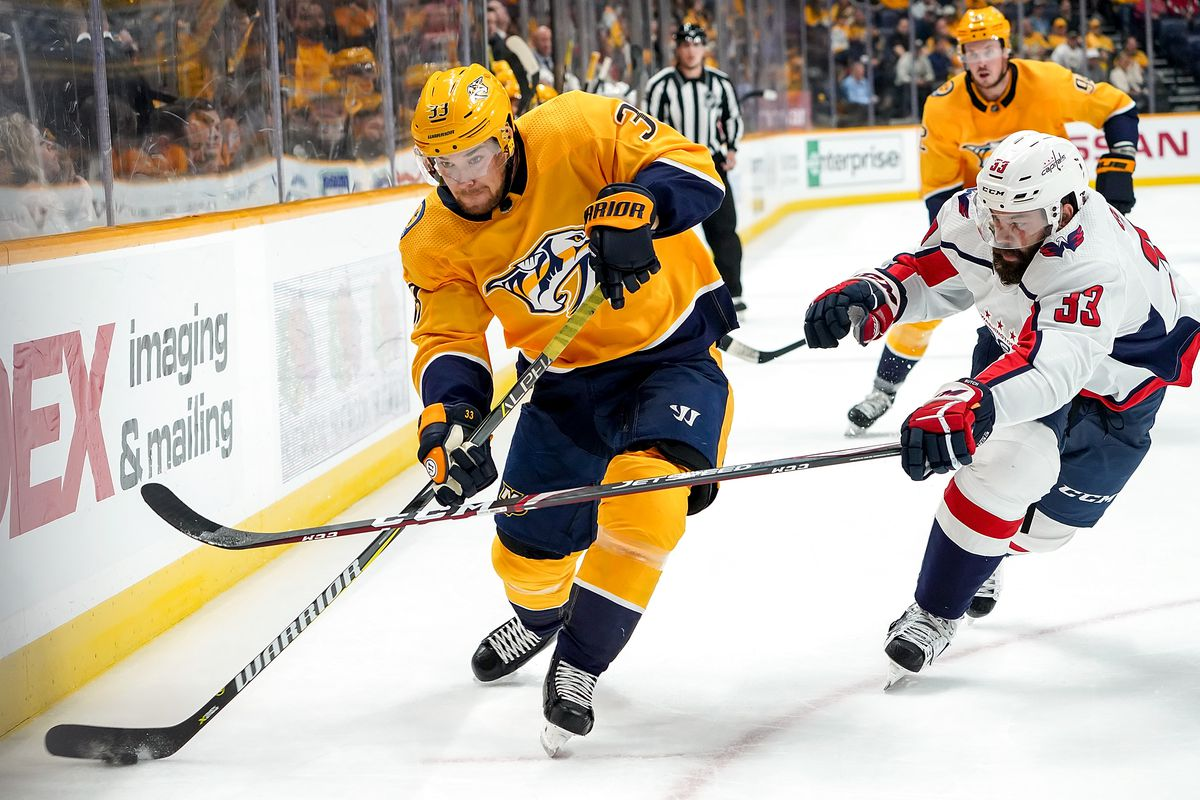 Nashville Predators At Washington Capitals Preview 1 29 20 Put Up A Fight On The Forecheck