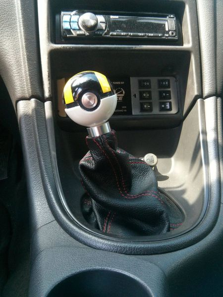 Pokemon Fan Creates Ultraball Gear Shifter With A Modified