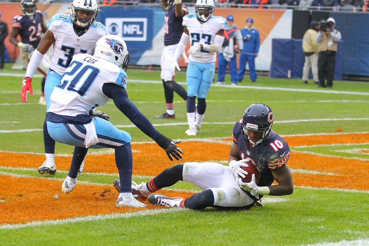 NFL: Tennessee Titans at Chicago Bears