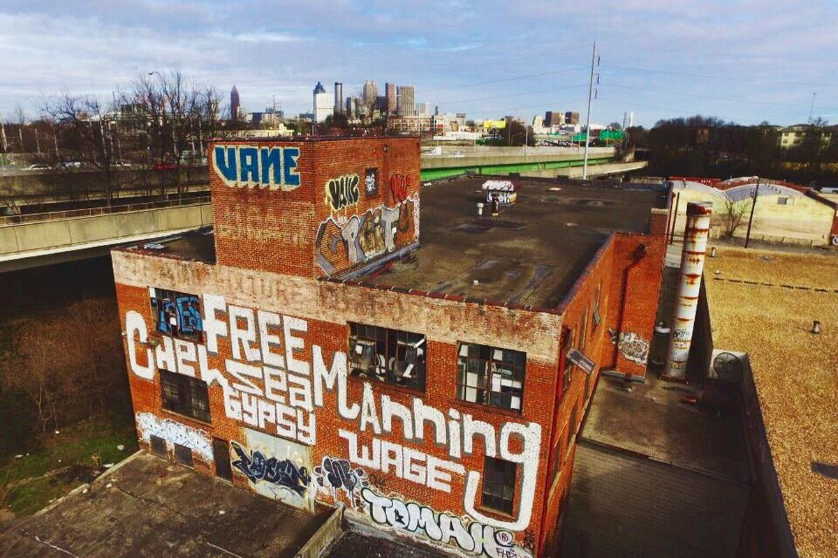 A 1920s cabinet factory just southwest of downtown Atlanta that's poised for redevelopment.