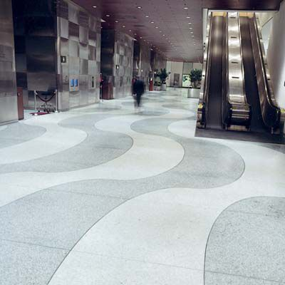 Terrazzo Flooring At Time & Life Building In New York City