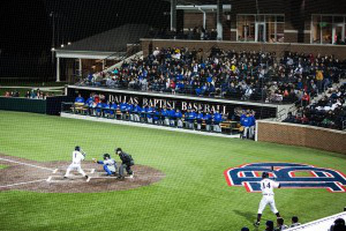 Dallas Baptist, and their nearly new stadium, Horner Ballpark, which opened in 2013, will be the destination for Oregon St. in the NCAA Regionals.