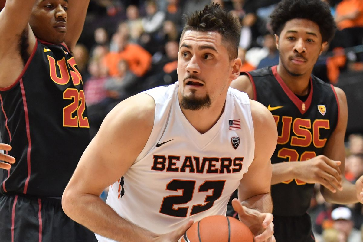 NCAA Basketball: Southern California at Oregon State