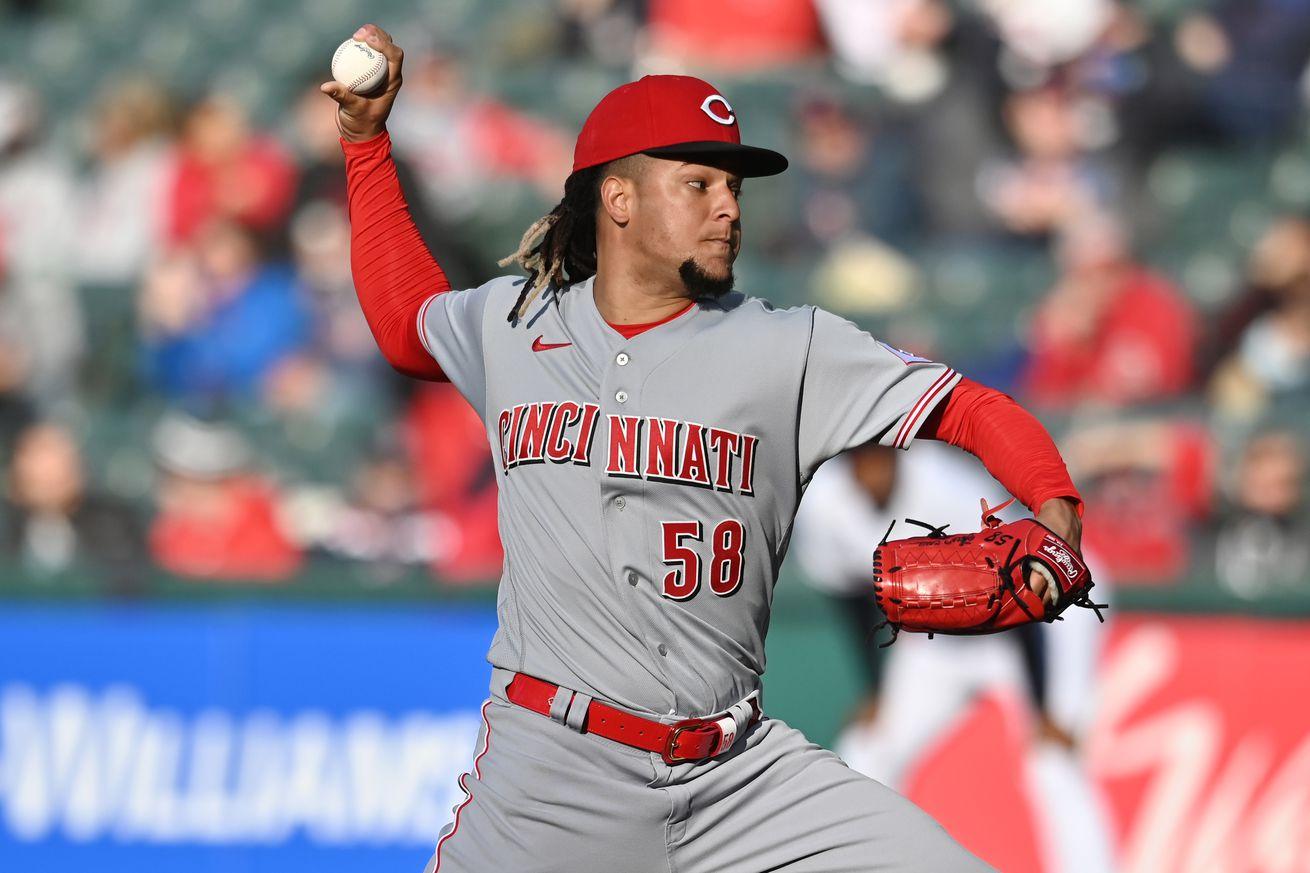MLB: Cincinnati Reds at Cleveland Indians