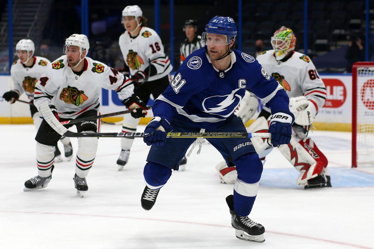 NHL: JAN 15 Blackhawks at Lightning