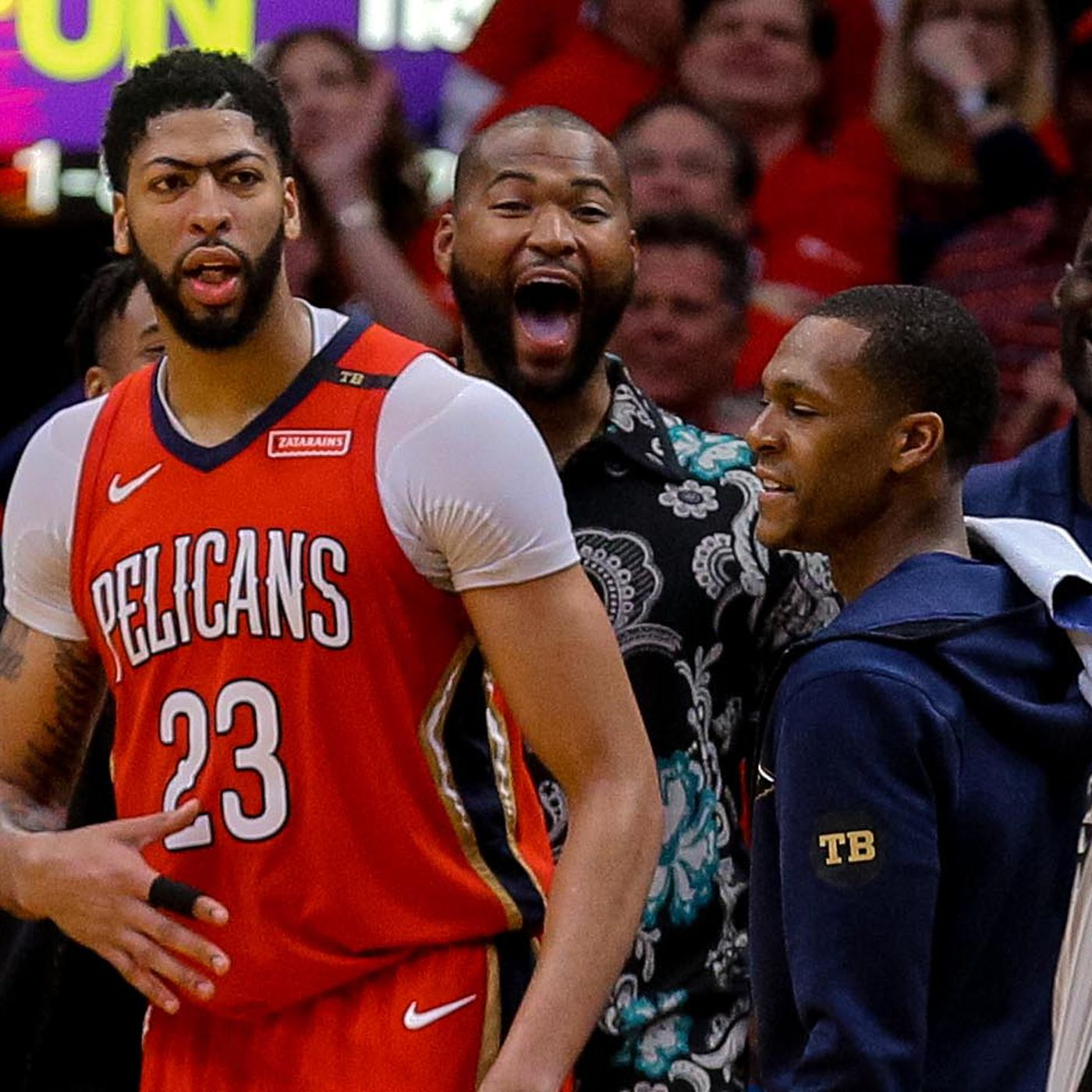 9c7941545e9 2018 NBA Playoffs  The day the Pelicans finally became New Orleans   basketball team
