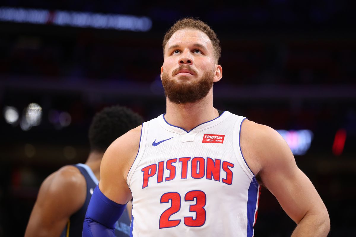 huge selection of 34dc3 41707 Detroit Pistons' Blake Griffin named 3rd team All-NBA ...