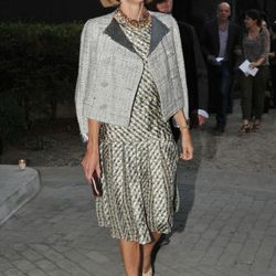 Anna Wintour at the Nina Ricci Ready to Wear Spring / Summer 2012 show during Paris Fashion Week  on September 29, 2011 in Paris, France